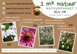 1 m² natuur - laagblijvend all-in-one natuurpakket 1