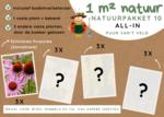 1 m² natuur - 'keuze van de kweker' all-in-one natuurpakket 10