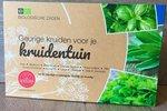 Biologische zadenpakket 'De kruidentuin'