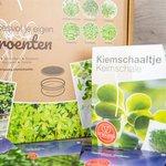 Biologisch Zadenpakket 'Kiemgroenten met schaaltje'