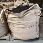 Levende wormenaarde | Jute Big Bag 1000 L