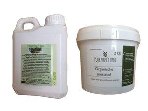 DUO-pakket FRUCTOL BIO + organische meststof