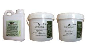 Totaal-pakket FRUCTOL BIO + organische meststof + bodemverbeteraar