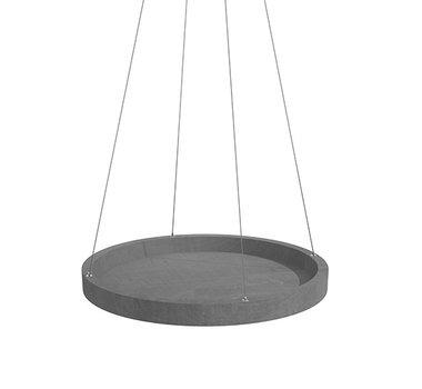 Ecopots hangend 'hanging saucer' 36 cm - bloemen/plantenbak