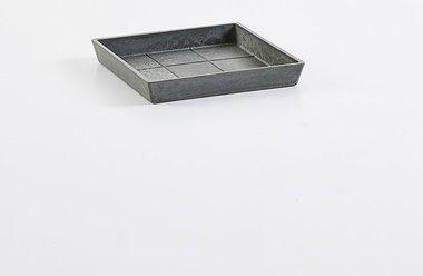 Ecopots onderschotel vierkant 21 cm