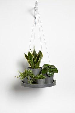Ecopots hangend 'hangende schotel' 36 cm - bloemen/plantenbak