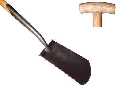 De Pypere 'Exclusive' Zwanehals spade met essen steel 750 mm